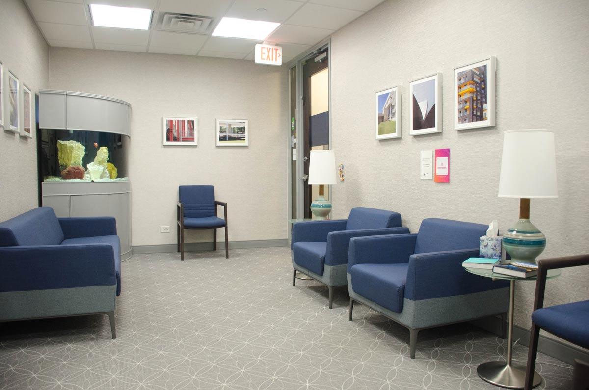 Evanston Dental Associates Waiting Area